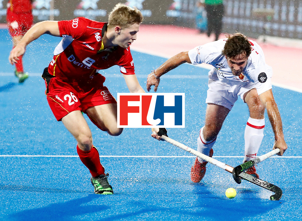 Odisha Men's Hockey World League Final Bhubaneswar 2017<br /> Match id: 18<br /> Belgium v Spain<br /> Foto: Victor Wegnez (Bel) <br /> COPYRIGHT WORLDSPORTPICS KOEN SUYK