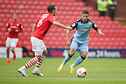 Rotherham United midfielder, on loan from Sheffield Wednesday, Jake Forster-Caskey (10)  during the EFL Sky Bet Championship match between Barnsley and Rotherham United at Oakwell, Barnsley, England on 27 August 2016. Photo by Simon Davies.
