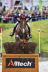 Elaine Pen, (NED), Vira - Eventing Cross Country test- Alltech FEI World Equestrian Games™ 2014 - Normandy, France.<br /> © Hippo Foto Team - Leanjo de Koster<br /> 30/08/14
