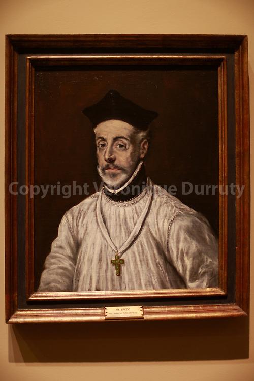 Peinture de El Greco, Musée des Beaux-Arts, Bilbao, Pays Basque, Espagne // El Greco Painting, Museum of fine arts, Bilbao, Basque country, Spain