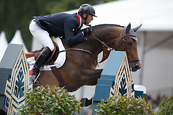 Delaveau Patrice, (FRA), Lacrimoso 3 Hdc<br /> Furusiyya FEI Nations Cup™ presented by Longines<br /> CHIO Rotterdam 2015<br /> © Hippo Foto - Dirk Caremans<br /> 19/06/15