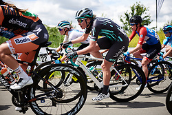 Martina Alzini (ITA) at Stage 2 of 2019 OVO Women's Tour, a 62.5 km road race starting and finishing in the Kent Cyclopark in Gravesend, United Kingdom on June 11, 2019. Photo by Sean Robinson/velofocus.com