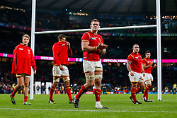 Wales Flanker Dan Lydiate looks dejected after South Africa win the match 23-19 - Mandatory byline: Rogan Thomson/JMP - 07966 386802 - 17/10/2015 - RUGBY UNION - Twickenham Stadium - London, England - South Africa v Wales - Rugby World Cup 2015 Quarter Finals.