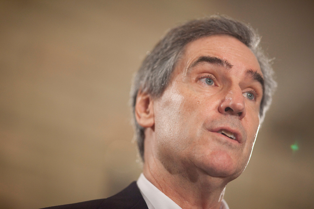 London, ONT.; April 1, 2011--  Liberal leader Michael Ignatieff speaks at a press conference during a campaign stop in London, Ontario, April 1, 2011.<br /> <br /> (GEOFF ROBINS/ Postmedia News)