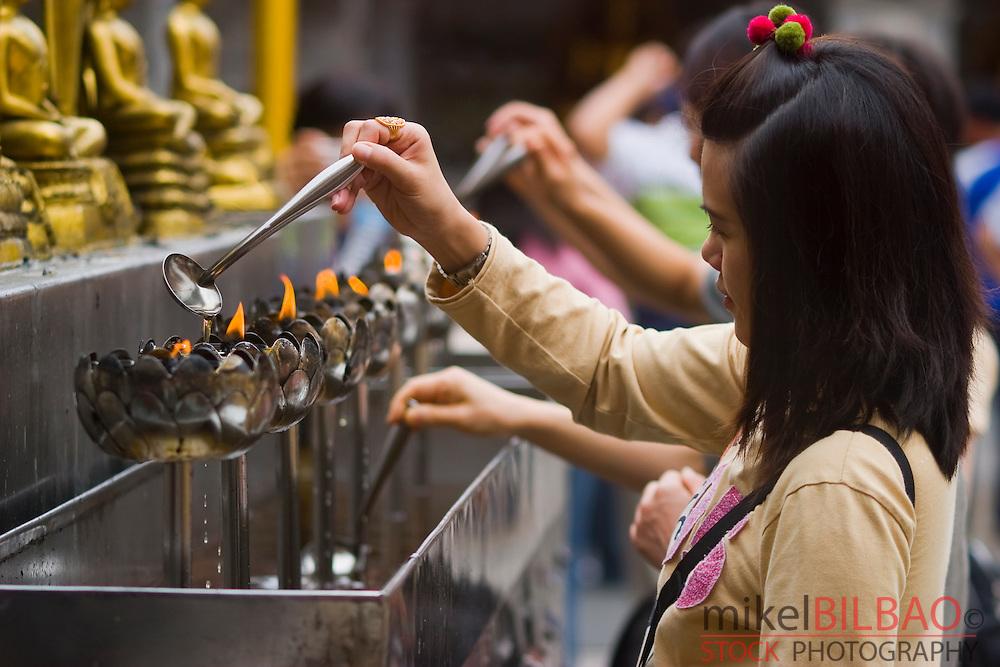 Believer. Wat Phrathat Doi Suthep. Chiang Mai, Thailand.