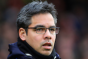 Huddersfield Town manager David Wagner during the Sky Bet Championship match between Nottingham Forest and Huddersfield Town at the City Ground, Nottingham, England on 13 February 2016. Photo by Aaron  Lupton.