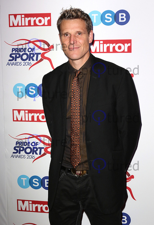 James Cracknell, Pride of Sport Awards, Grosvenor House Hotel, London UK, 07 December 2016, Photo by Richard Goldschmidt