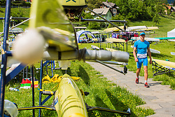 Jalen Ales of Slovenia during semi final round  Rowing World Cup on May 9, 2015, at Bled's lake, Bled, Slovenia. (Photo by Grega Valancic / Sportida)