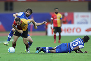 Mahmoud Amnah of East Bengal during the final of the Hero Super Cup between East Bengal FC and Bengaluru FC held at the Kalinga Stadium, Bhubaneswar, India on the 20th April 2018<br /> <br /> Photo by: Arjun Singh / SPORTZPICS