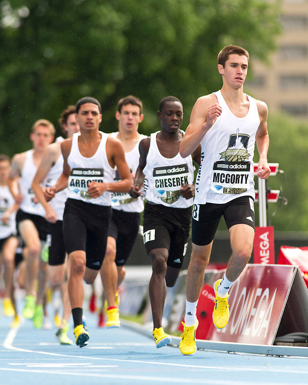 adidas Grand Prix professional track & field meet: high school boys Dream Mile, Sean McGorty
