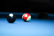 Billiard Table Selective focus