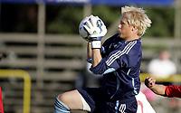 Fotball <br /> Privatlandskamp International U21 U-21 <br /> Landskamp Friendly<br /> 22.08.07 <br /> Melløs Stadion<br /> Norge Norway U21 - Danmark Denmark U21<br /> Kasper Schmeichel - Manchester City<br /> Foto - Kasper Wikestad