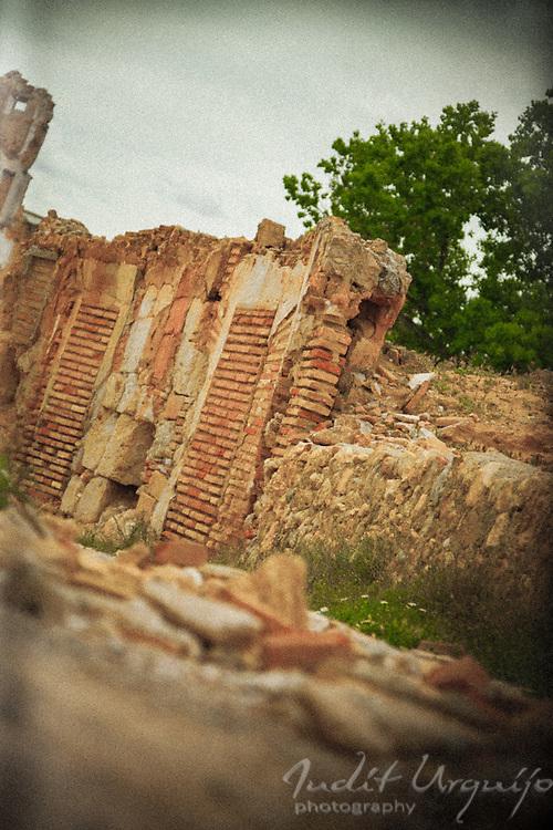 Street in ruins