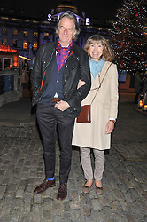SIR PAUL & LADY SMITH at the opening of the 2012 Somerset House Ice Rink on 15th November 2012.