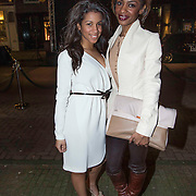 NLD/Amsterdam/20140203 - 20 Jaar Talkies Magazine, Sylvana Simons en dochter Levi