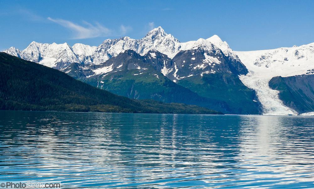Cascade Glacier Barry Arm Prince William Sound Alaska