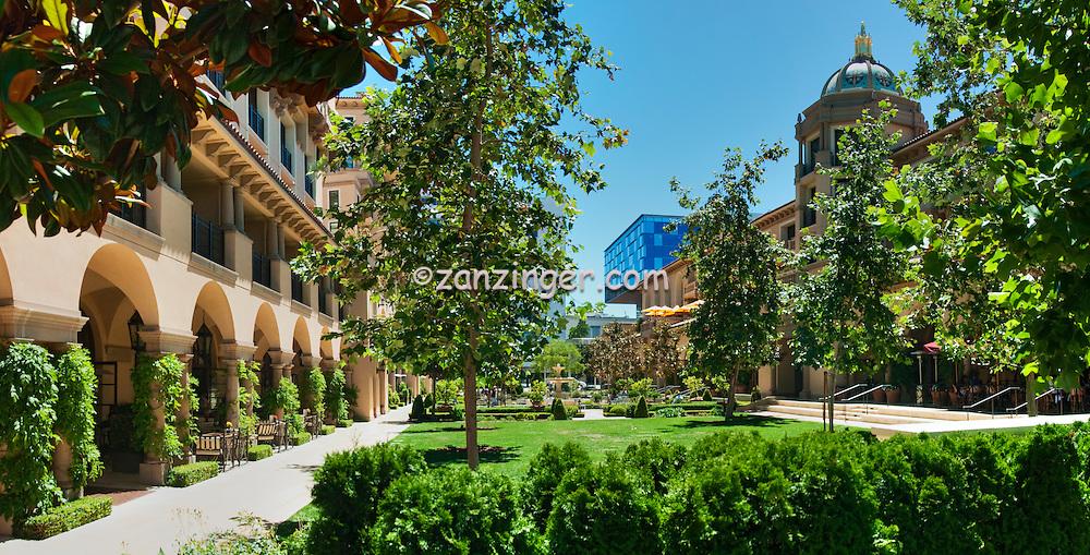Beverly Canon Gardens; Beverly Hills; CA. Panorama