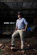SYDNEY, AUSTRALIA - SEPTEMBER 26:  Boss Magazine. Federal MP Angus Taylor poses on his farm in Goulburn, September 26, 2014 in NSW, Australia.  (Photo by Fiona Morris/Fairfax Media)