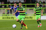 Forest Green Rovers William Randell(19) runs forward during the EFL Sky Bet League 2 match between Forest Green Rovers and Exeter City at the New Lawn, Forest Green, United Kingdom on 9 September 2017. Photo by Shane Healey.