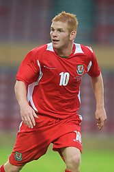 Wrexham, Wales - Wednesday, August 12th, 2009: Wales' Marc Williams during the UEFA Under 21 Championship Qualifying Group 3 match at the Racecourse Ground. (Photo by Chris Brunskill/Propaganda)