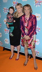 Benjamin Moss, Rebecca Wilcox and Esther Rantzen  attend Dora and Friends TV Premiere at Empire Leiceter Sq, London on Sunday 2.11.2014