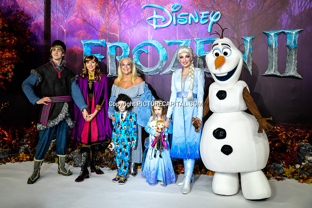Vanessa Feltz attend European Premiere of Frozen 2 on 17 November 2019, BFI Southbank, London, UK.