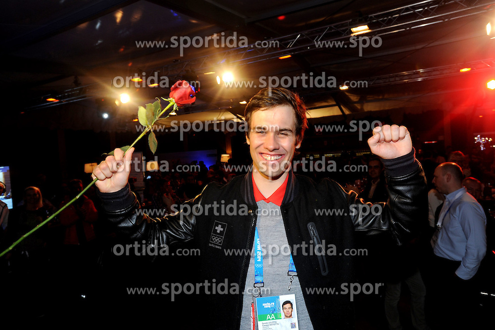 14.02.2014, Austria Tirol House, Krasnaya Polyana, RUS, Sochi, 2014, im Bild SANDRO VILETTA // SANDRO VILETTA during the Olympic Winter Games Sochi 2014 at the Austria Tirol House in Krasnaya Polyana, Russia on 2014/02/14. EXPA Pictures © 2014, PhotoCredit: EXPA/ Erich Spiess