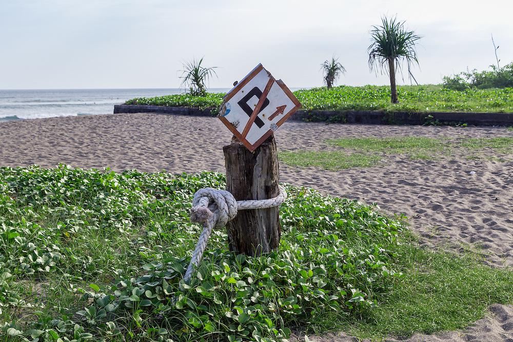 Batubolong beach.