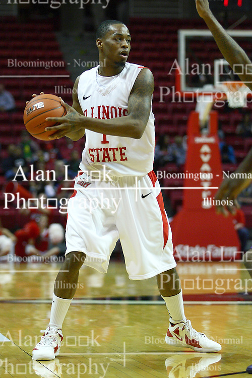 19 November 2011:  Tyler Brown during an NCAA mens basketball game between the Lipscomb Bison and the Illinois State Redbirds in Redbird Arena, Normal IL