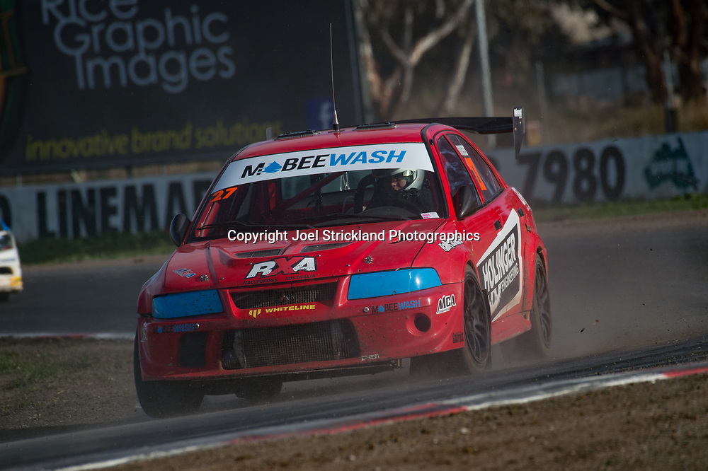 Will Orders - Mitsubishi RXEvo - Rallycross Australia - Winton Raceway - 16th July 2017