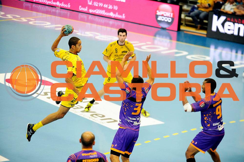 DESCRIZIONE : Handball Tournoi de Cesson Homme<br /> GIOCATORE : BRASSELEUR Micke<br /> SQUADRA : Tremblay<br /> EVENTO : Tournoi de cesson<br /> GARA : Tremblay Selestat<br /> DATA : 07 09 2012<br /> CATEGORIA : Handball Homme<br /> SPORT : Handball<br /> AUTORE : JF Molliere <br /> Galleria : France Hand 2012-2013 Action<br /> Fotonotizia : Tournoi de Cesson Homme<br /> Predefinita :