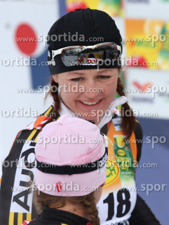 Katrin Zeller of Germany after Ladies` Pursuit 7,5 km Classic + 7,5 km Free at FIS Nordic World Ski Championships Liberec 2008, on February 21, 2009, in Vestec, Liberec, Czech Republic. (Photo by Vid Ponikvar / Sportida)