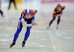 23-02-2008 SCHAATSEN: FINALE ISU WORLD CUP: HEERENVEEN<br /> Jorien Voorhuis<br /> ©2008-WWW.FOTOHOOGENDOORN.NL