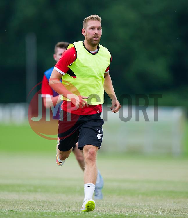 Bristol City's Scott Wagstaff  - Photo mandatory by-line: Joe Meredith/JMP - Mobile: 07966 386802 - 01/07/2015 - SPORT - Football - Bristol - Failand Training Ground - Bristol City Pre-Season Training
