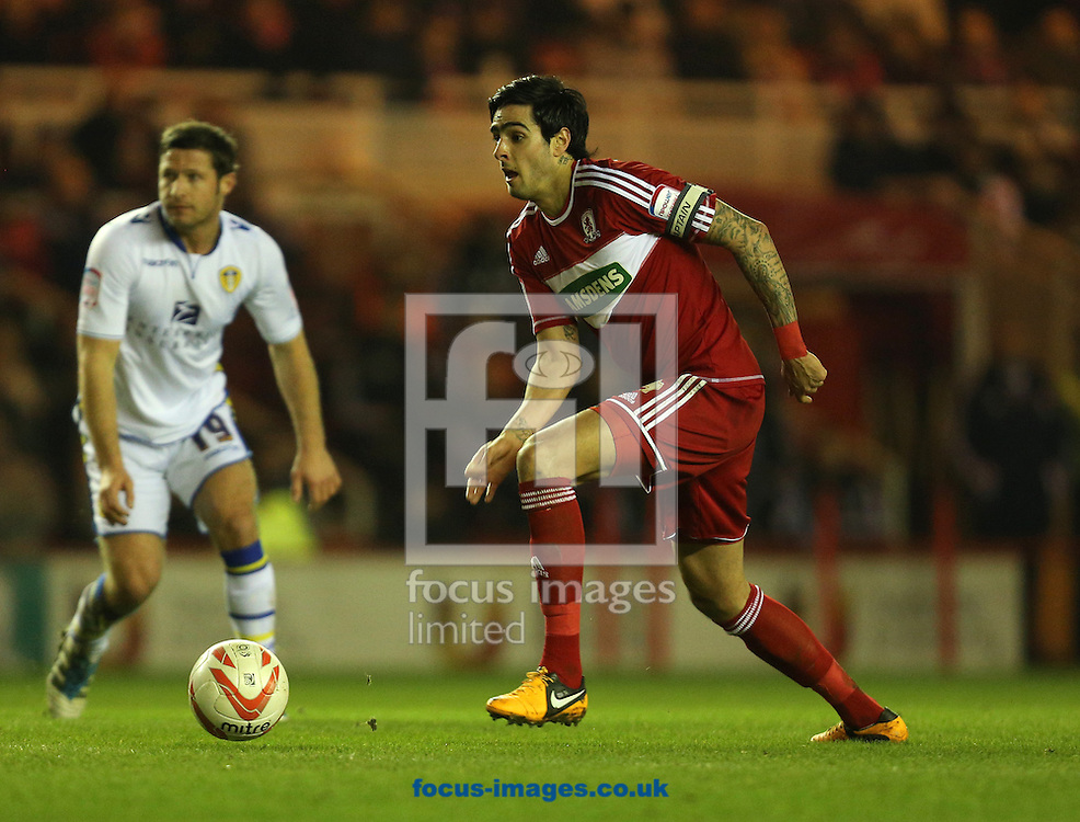 Picture by Paul Gaythorpe/Focus Images Ltd +447771 871632.12/02/2013.Rhys Williams of Middlesbrough during the npower Championship match at the Riverside Stadium, Middlesbrough.