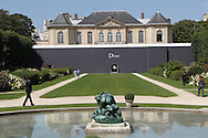 PARIS, FRANCE - JULY 04:  General view of the venue at the Christian Dior Haute Couture Fall/Winter 2011/2012 show as part of Paris Fashion Week at Musee Rodin on July 4, 2011 in Paris, France.  (Photo by Tony Barson/WireImage)
