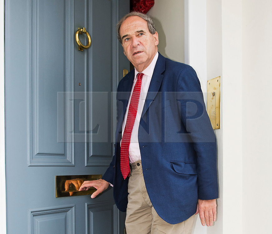FILE PICTURE - Metropolitan Police has published key findings from report into the apology to Lady Brittan... © London News Pictures.. 07/07/2014. London, UK. LORD BRITTAN arriving back at his Pimlico home in London today (07/07/2014). Former Home Secretary Leon Brittan is reported to have been interviewed by police over a historical allegation of rape.Photo credit: Ben Cawthra/LNP