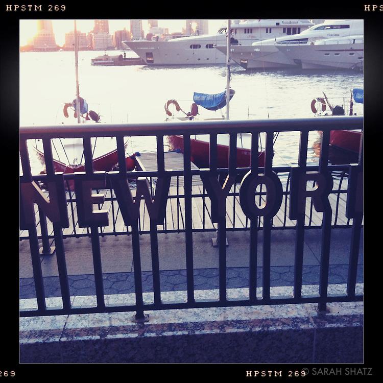 Battery Park boat basin