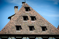 Rooftop in Obernai, Alsace, France<br /> <br /> (c) Andrew Wilson | Edinburgh Elite media