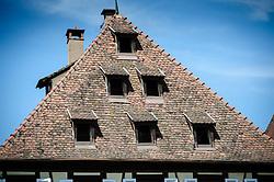 Rooftop in Obernai, Alsace, France<br /> <br /> (c) Andrew Wilson   Edinburgh Elite media