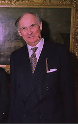 LORD BARNARD Lord Lieutenant of Couny Durham, at a reception in London on 2nd February 1998.MFA 8 MORO