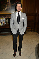 DAVID GANDY at the LDNY Fashion Show and WIE Award Gala sponsored by Maserati held at The Goldsmith's Hall, Foster Lane, City of London on 27th April 2015.