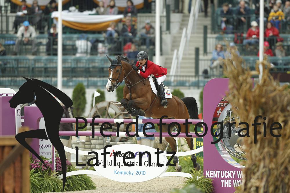 GARCIA Loisse, Ad Simone Metodo Marcolab<br /> Kentucky - Alltech FEI WEG 2010<br /> /Stefan Lafrentz