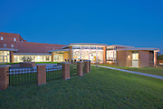 Architectural and Interior Image of the Holthaus Center for the Arts at Archbishop Curley Highschool in Baltimore MD.