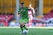 Forest Green Rovers Kevin Dawson(18) runs forward during the EFL Sky Bet League 2 match between Bradford City and Forest Green Rovers at the Utilita Energy Stadium, Bradford, England on 24 August 2019.