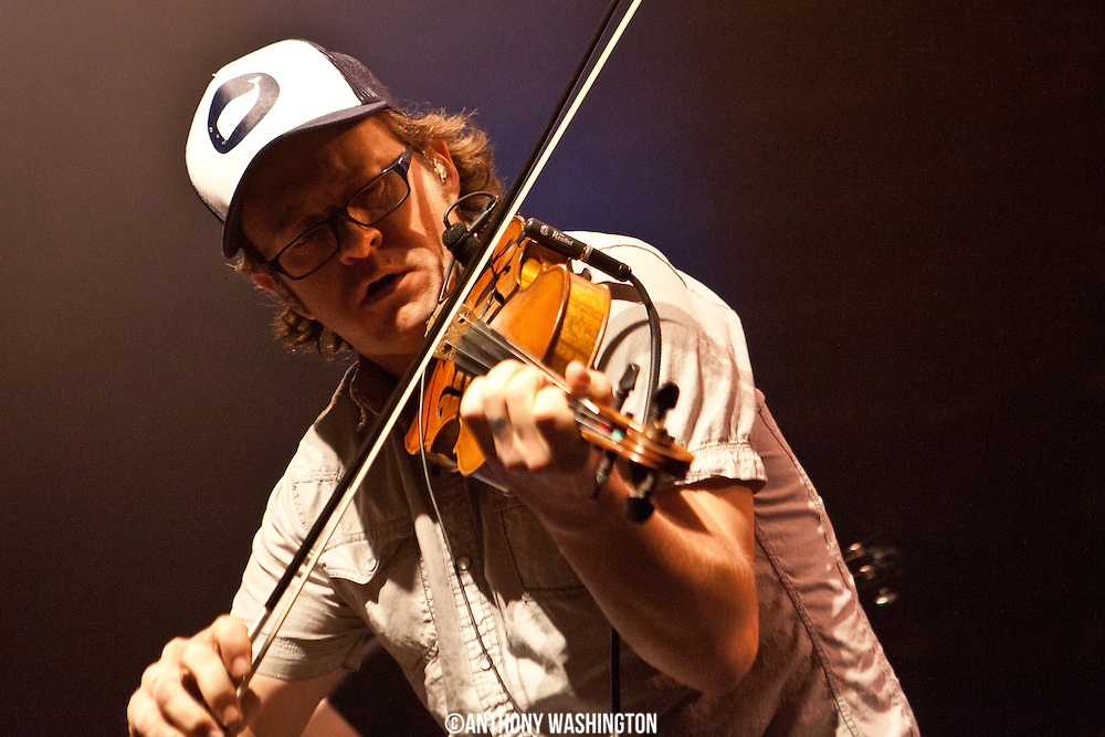Jeremy Garrett of The Infamous Stringdusters performs at Rams Head Live in on Friday, March 29, 2014 in Baltimore, MD.