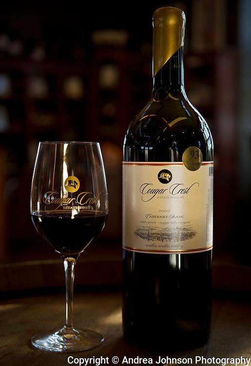 Cougar Crest Winery, Walla Walla, Washington