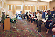 College of Education Undergrad Research Exhibition  in Baker Ballroom on Friday, March 9th. Provost Krendl,Dr. McDavis, and Dean Dr. Rene Middleton were there. There were about 45 trifold research presentations; the students worked in pairs...Provost Krendl
