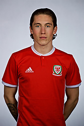 NANNING, CHINA - Saturday, March 24, 2018: Wales' Harry Wilson during a squad photo shoot at the Wanda Realm Hotel on day five of the 2018 Gree China Cup International Football Championship. (Pic by David Rawcliffe/Propaganda)