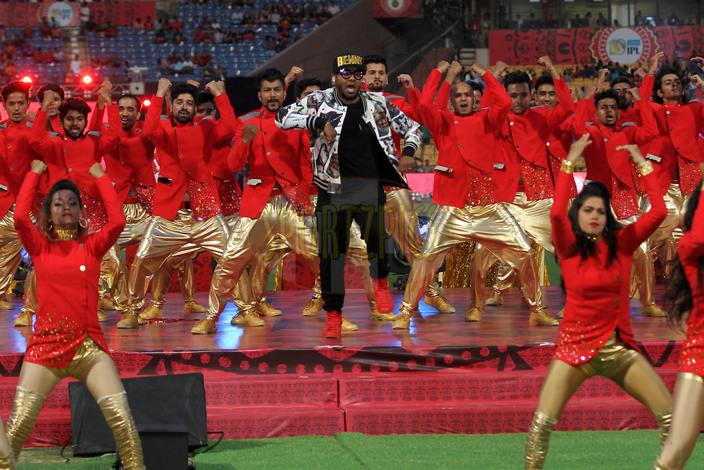 Beny Dayal performs at the opening ceremony during match 5 of the Vivo 2017 Indian Premier League between the Royal Challengers Bangalore and the Delhi Daredevils held at the M.Chinnaswamy Stadium in Bangalore, India on the 8th April 2017Photo by Prashant Bhoot - IPL - Sportzpics